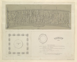 Rear face of the bottom lintel of the North Gateway of large, or No 1. Sthupa Plate XII